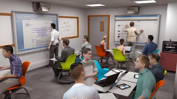 salle de classe du futur par gem