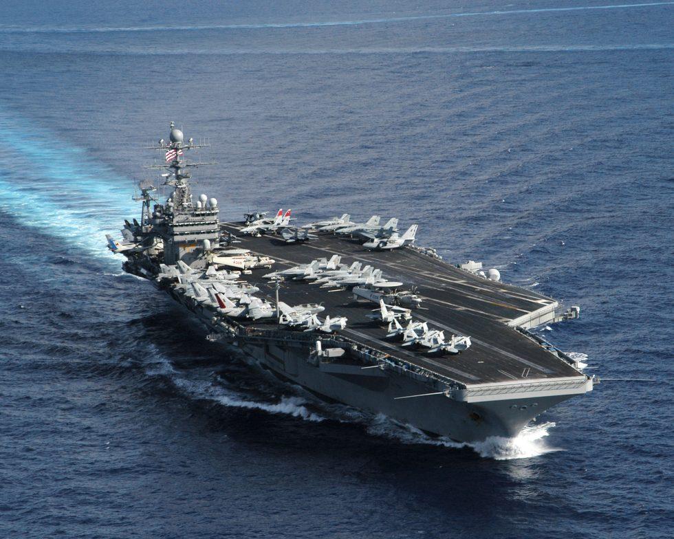 l'USS Theodore-Roosevelt au cœur de la crise du coronavirus
